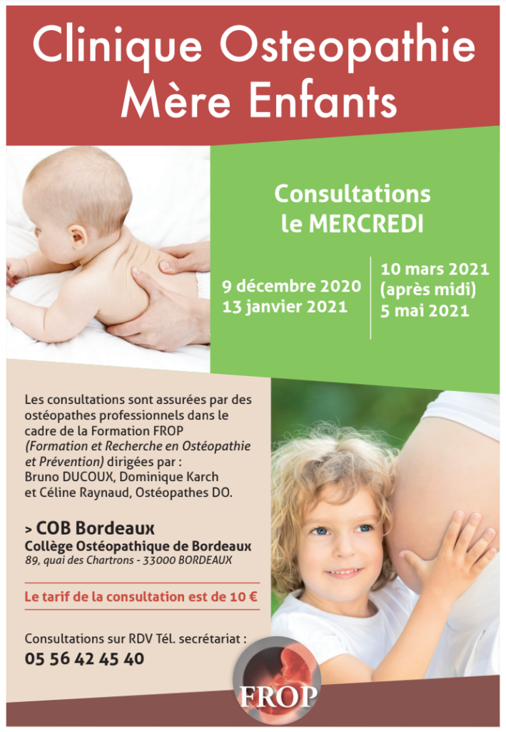 consulation osteopathie